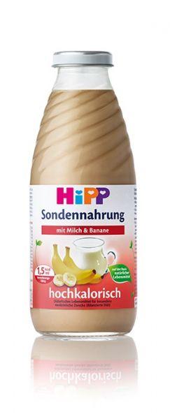 Hipp Sondennahrung, Milch Banane hochkalo. 500ml