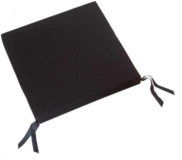 Sitzkissen standard RG 35, 45x45x5 cm, m.Band