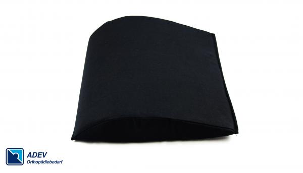 ADEV Lendenkissen, groß, schwarz