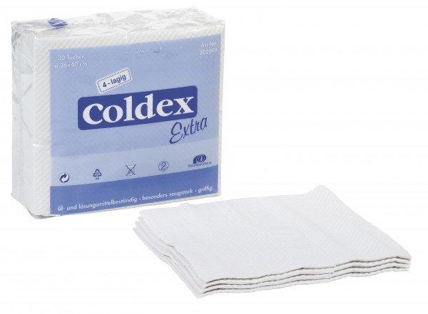Coldex® Extra Wipes