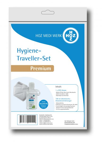 Hygiene-Traveller-Set Premium